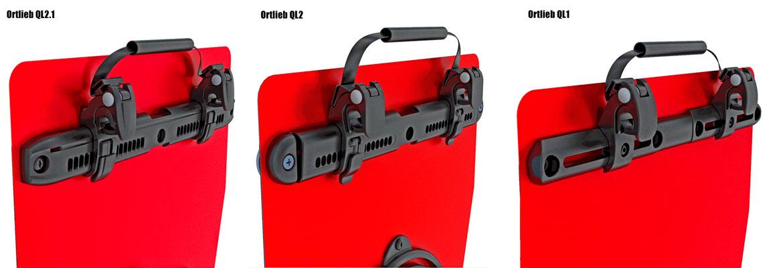 Велосумки Ortlieb и система креплений Ortlieb QL2.1
