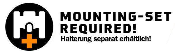 Ortlieb Handlebar Mounting-Set