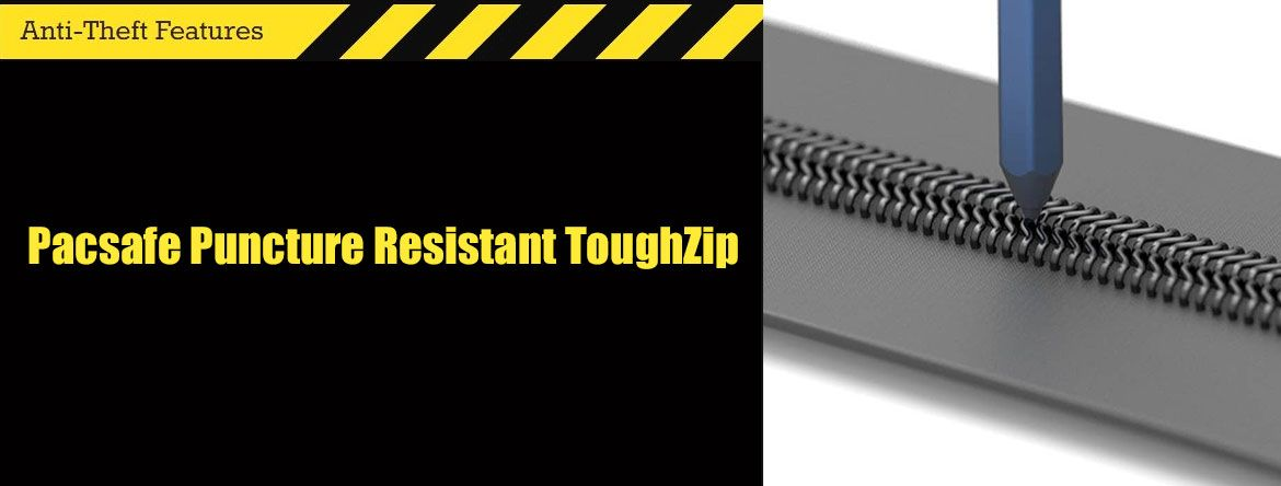 Pacsafe Puncture Resistant ToughZip - защита от краж