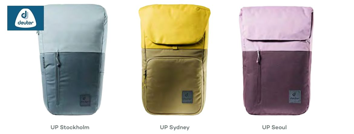 Deuter UP Stockholm, Deuter UP Sydney, Deuter UP Seoul-NEW2020