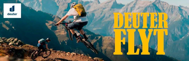 Deuter Flyt - велорюкзаки с защитой для спины